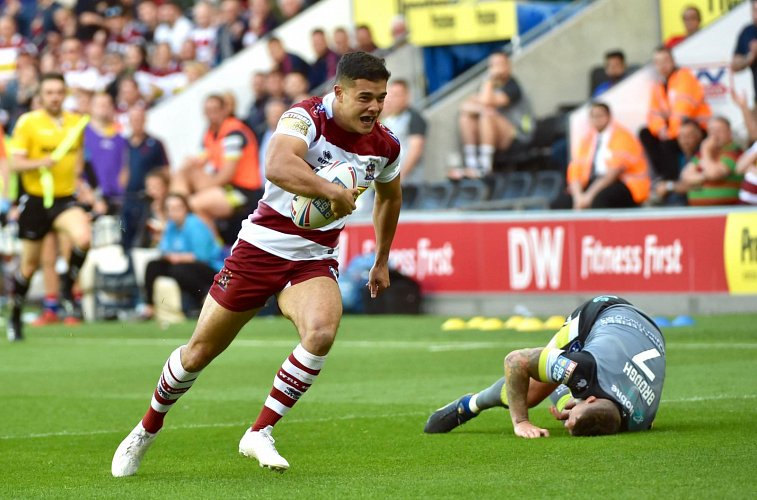 Match photos from Wigan vs Wakefield (18/07/2019)