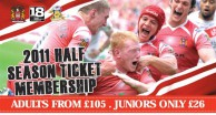 Champions Launch Half Season Ticket Membership
