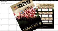2012 Warriors Calendar Out Now
