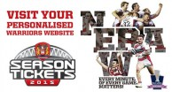 Visit Your Personalised Warriors Website