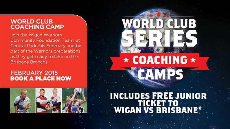 World club series training camp news wigan warriors world club series training camp publicscrutiny Image collections