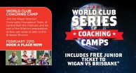 Join Warriors Players at World Club Camp