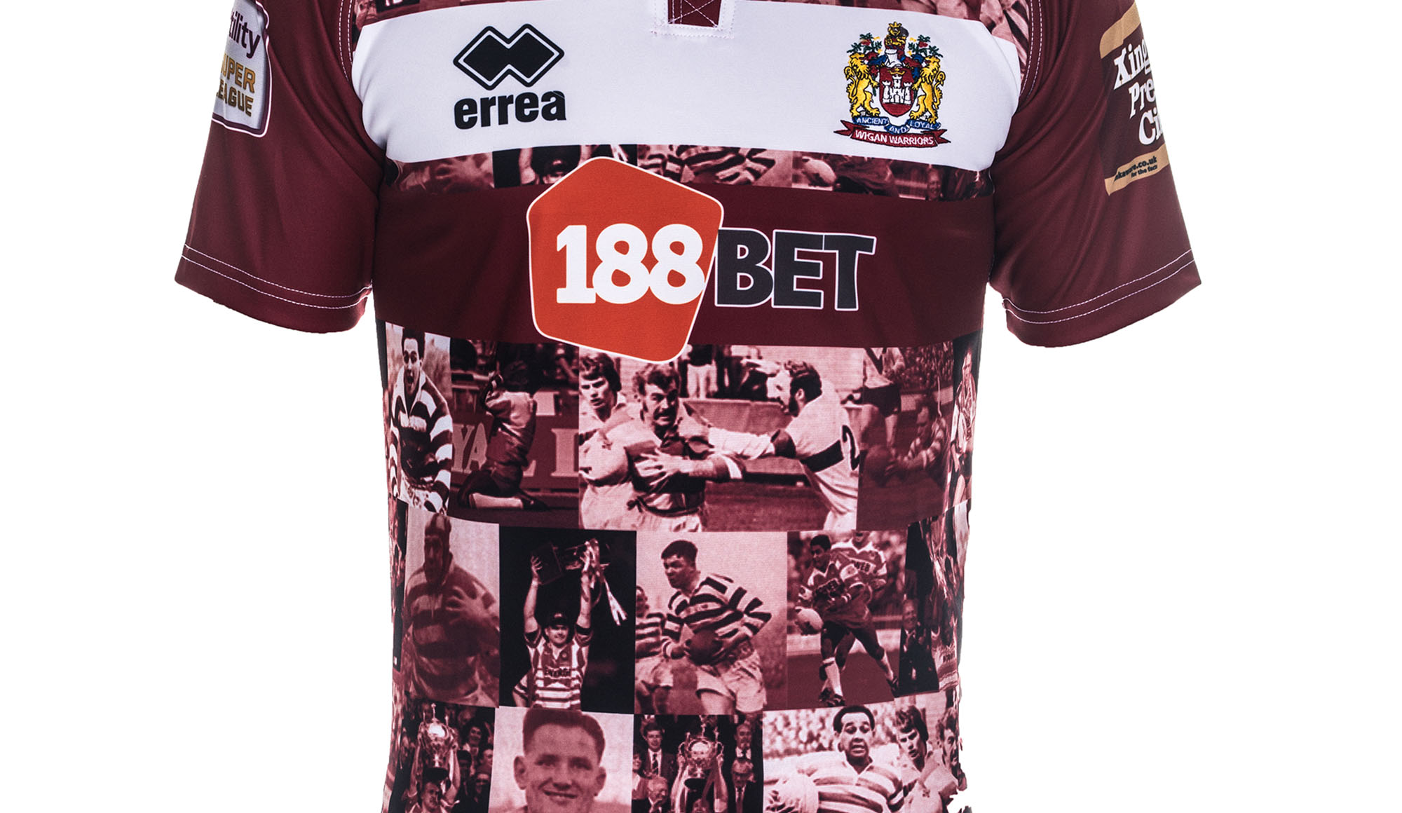 5200137962f Source · 2019 Super League kits Source · Heritage Honour News Wigan Warriors