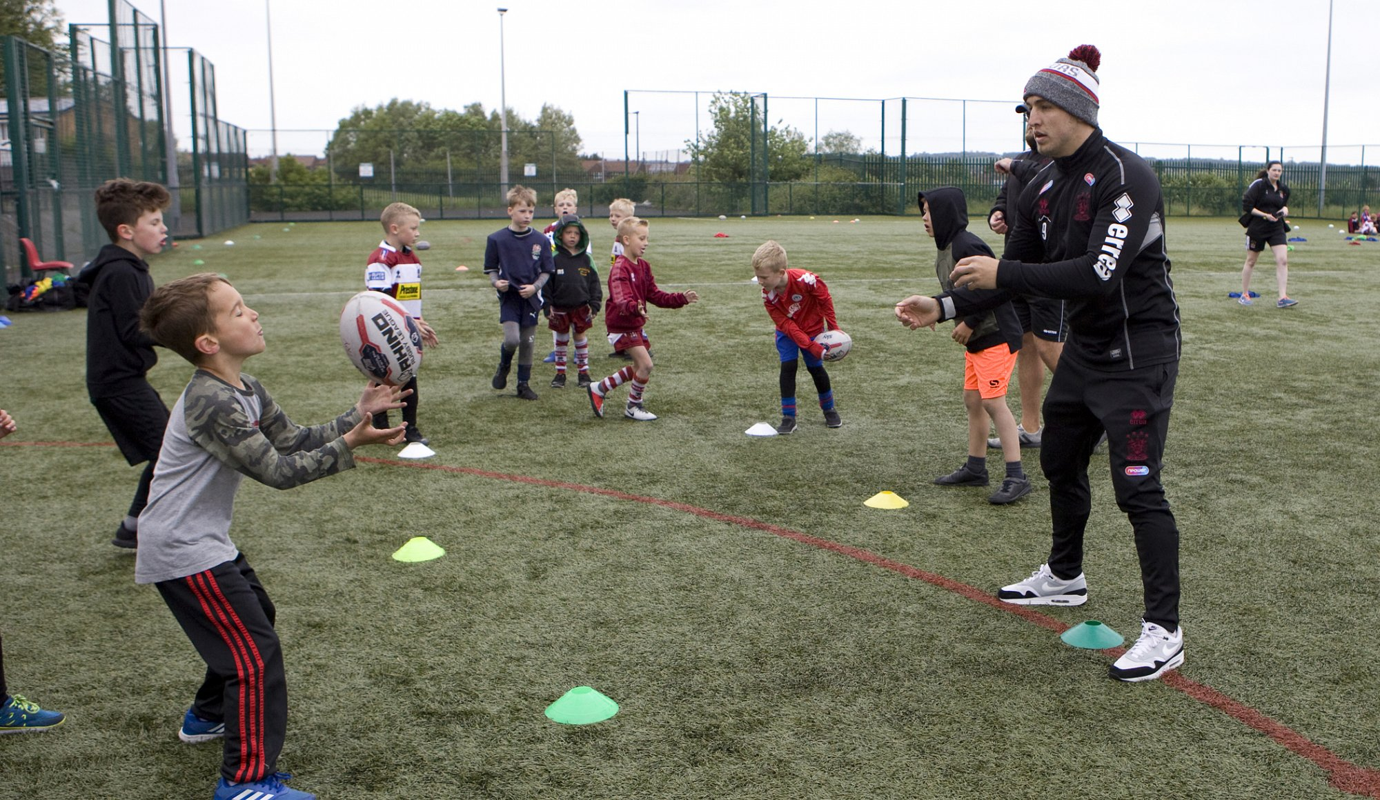 Warriors and Rovers join forces for Lancashire School Sport