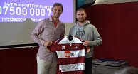 Warriors meet ex-Arsenal captain Tony Adams