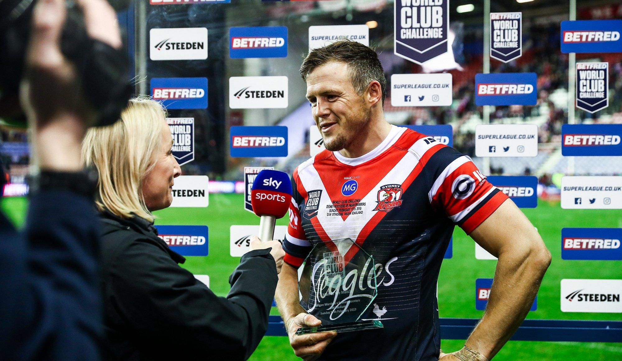 Morris applauds Wigan fans | News | Wigan Warriors