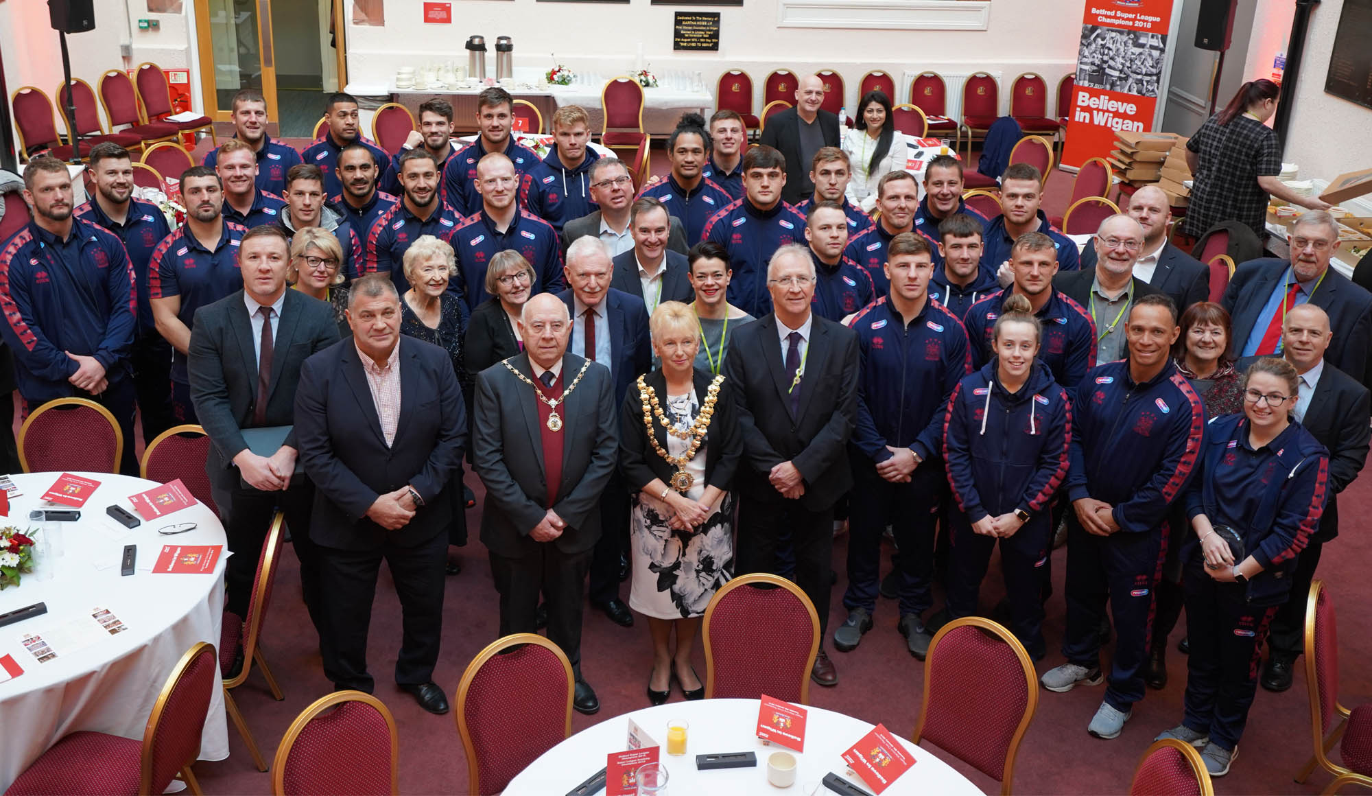 Warriors Civic Reception