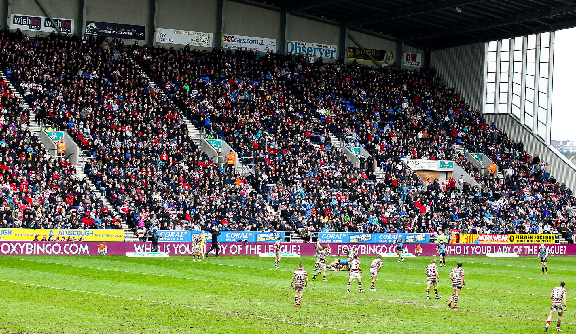 WCC: East Stand near sell-out