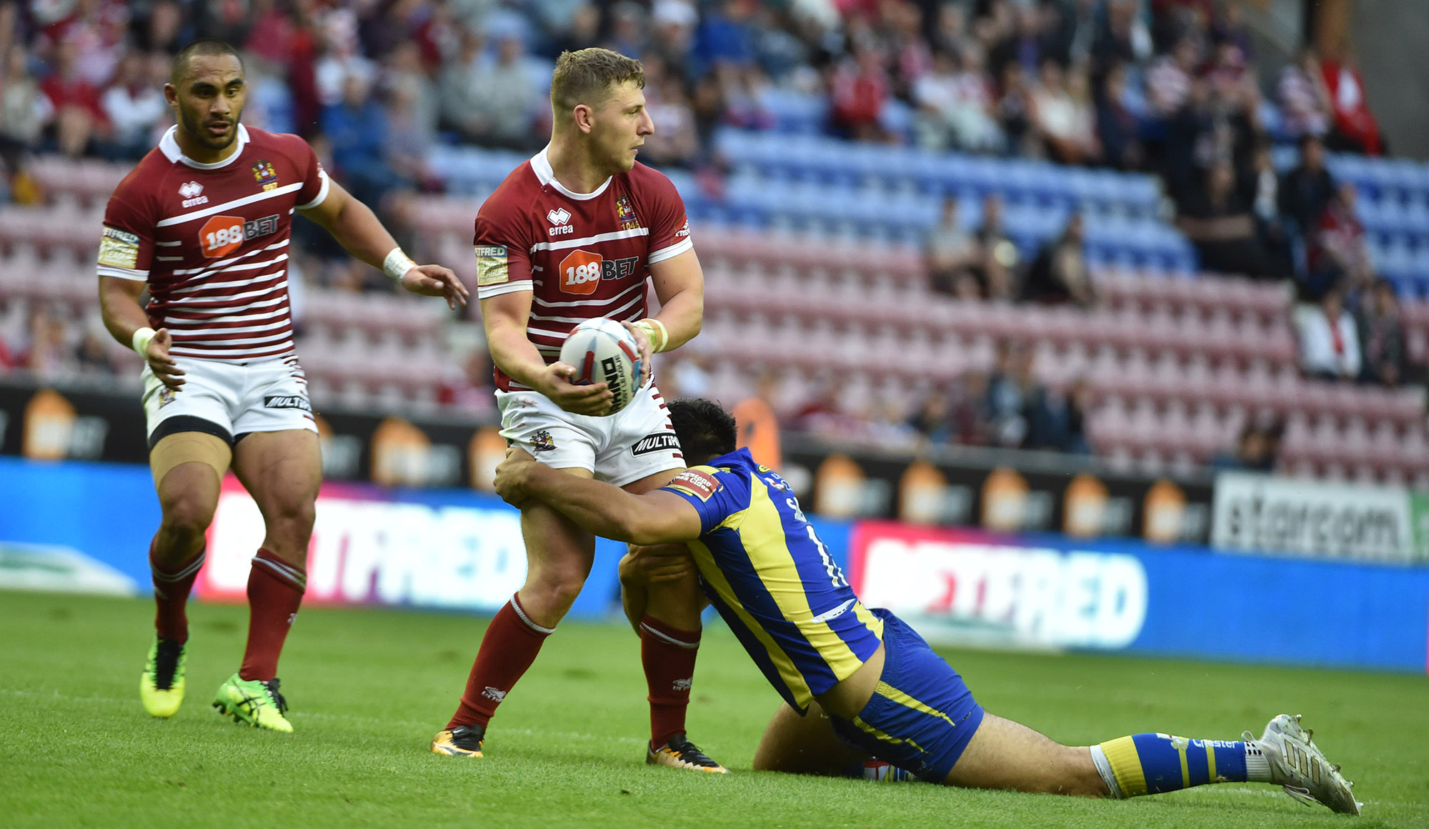 Wigan 10 Warrington 16