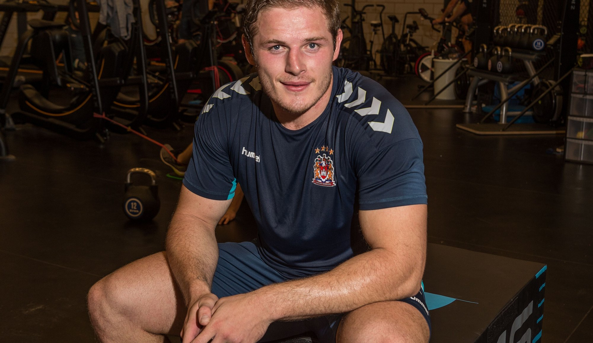 All smiles: Burgess