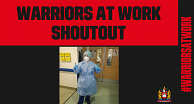 Warriors At Work shoutout