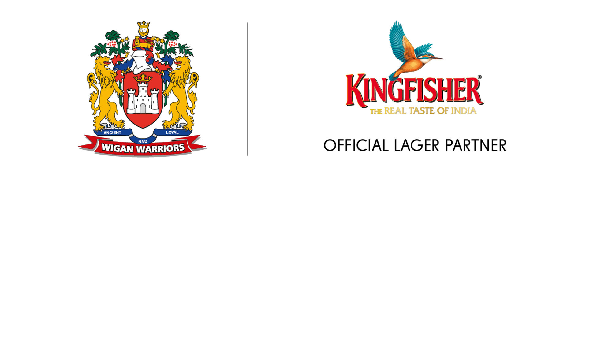 Warriors agree partnership with Kingfisher