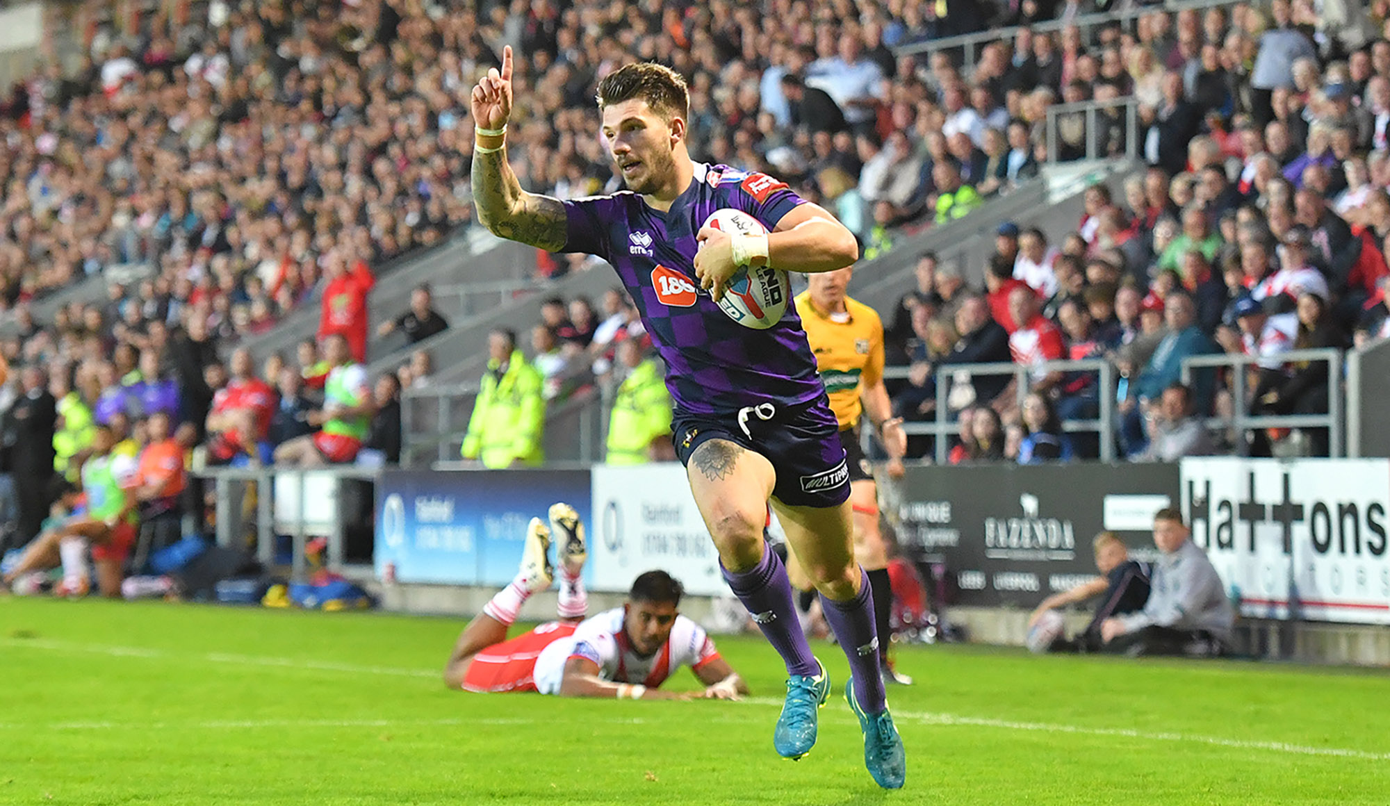St Helens 16 Wigan 26