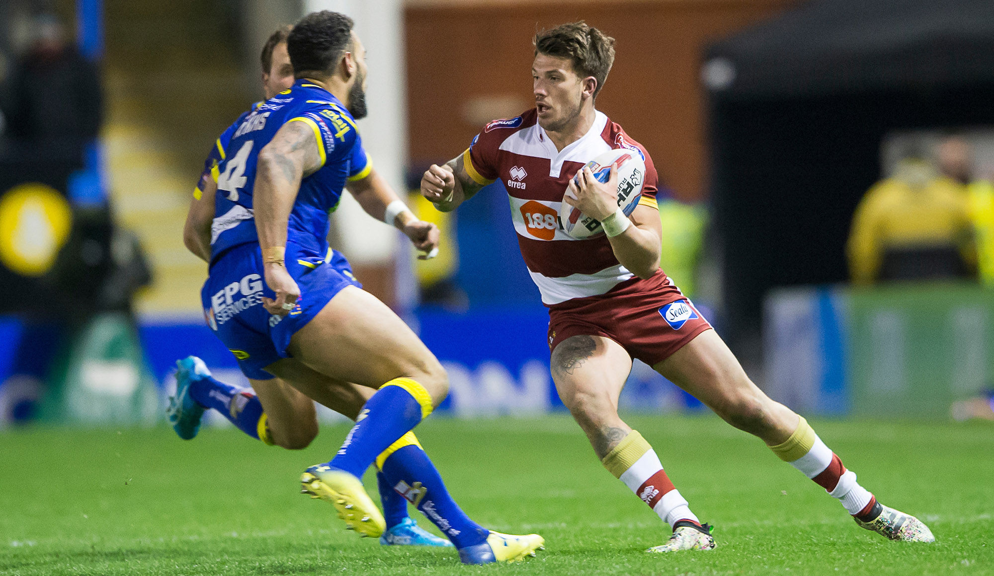 Warrington cup tie confirmed