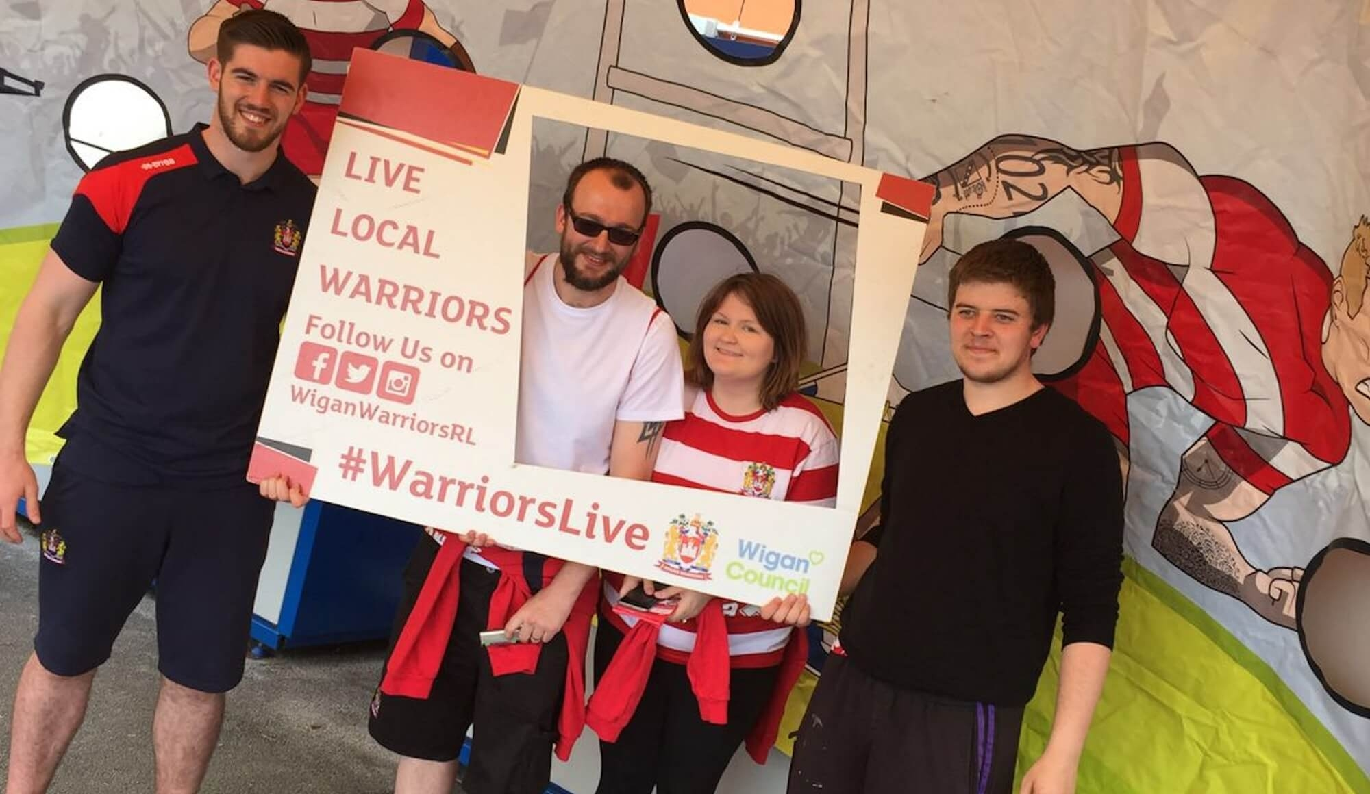 BIG ONE Warriors Live Roadshow