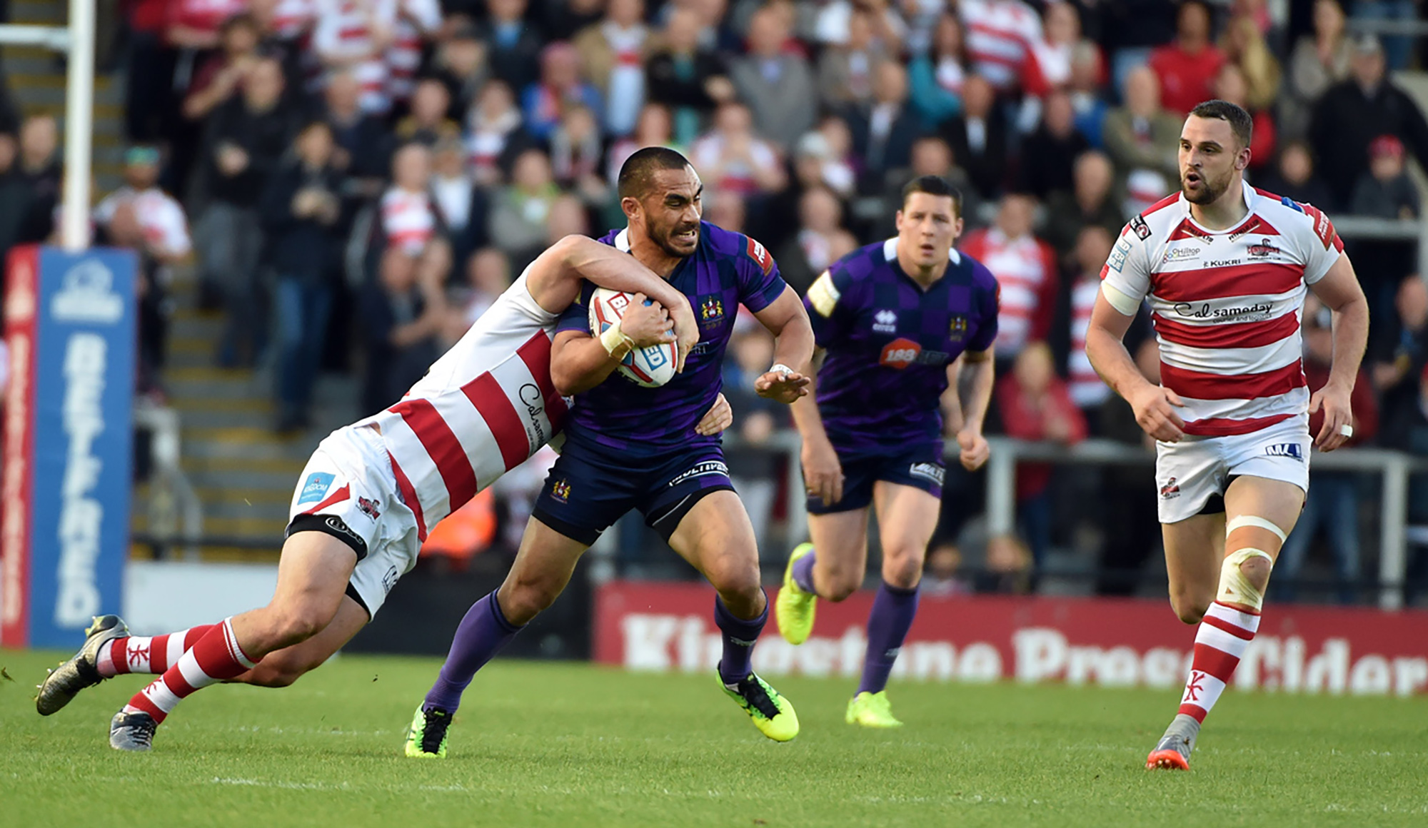 Leigh 50 Wigan 34