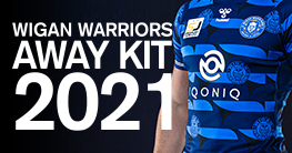 Wigan Warriors Away Kit 2021