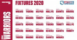 Betfred Super League 2020 Fixtures