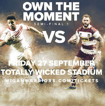 Saints vs Wigan