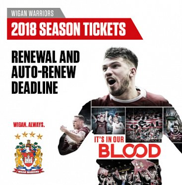 2018 Season Ticket