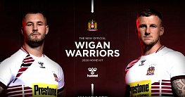 Wigan Warriors 2020 Home Kit