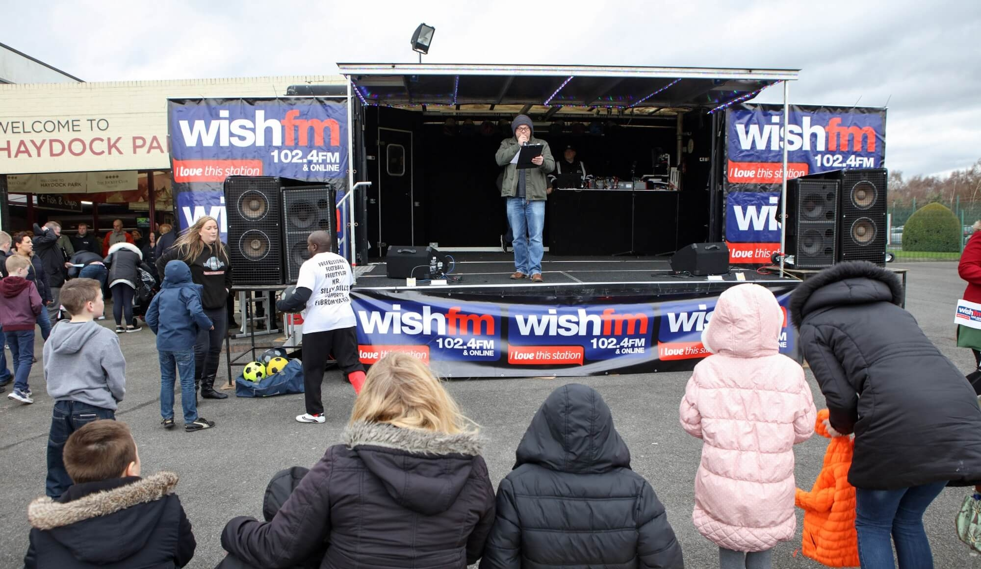 Wish FM To Host Entertainment