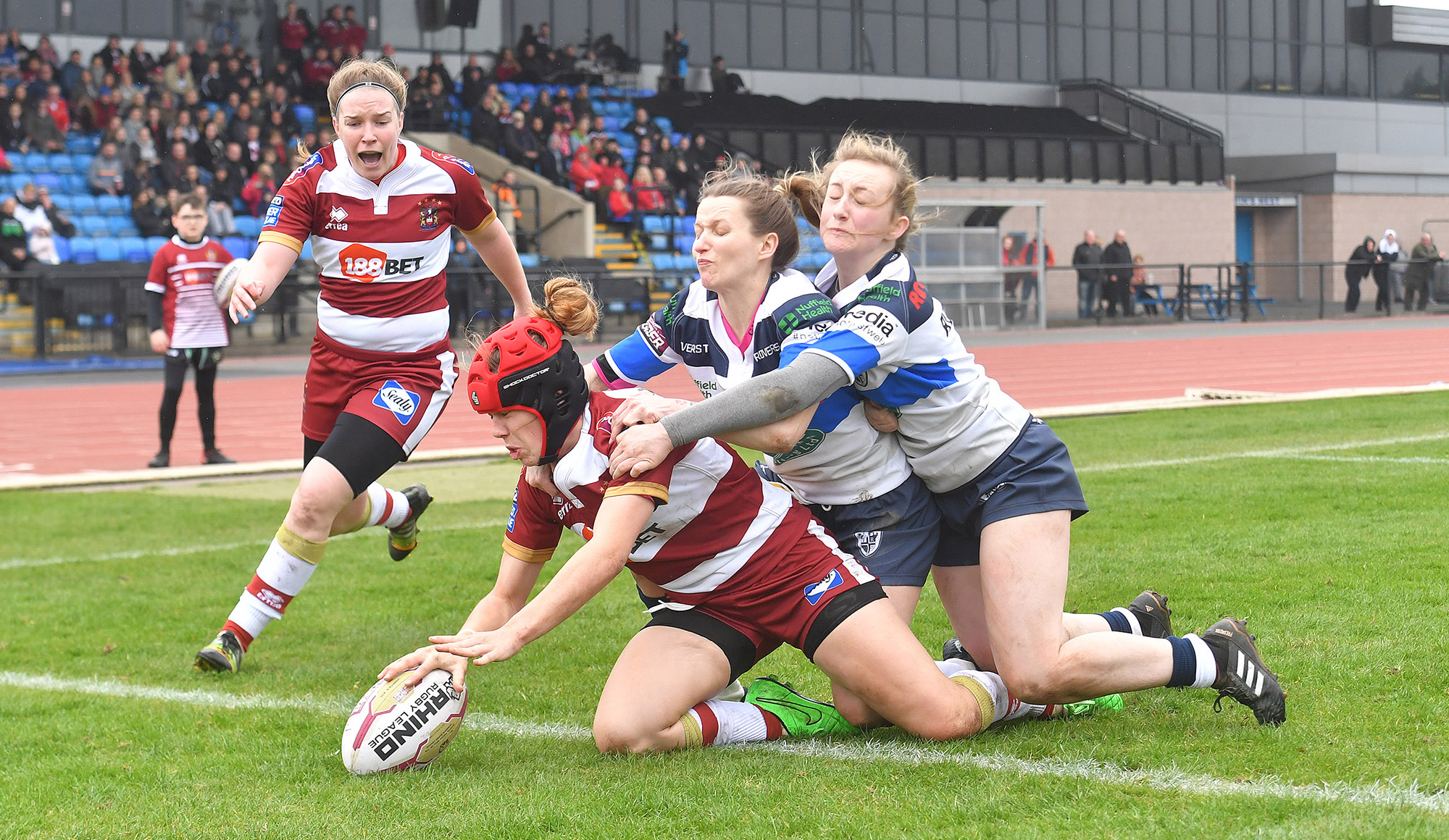 Women: Wigan 54-0 Featherstone