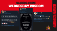 Warriors At Home: Day 36