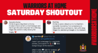Warriors At Home: Day 35