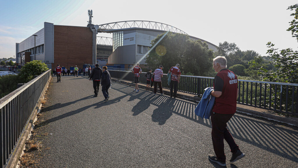 This image has an empty alt attribute; its file name is DW-Stadium-approach-South-East-corner-June-2021-1024x576.jpg