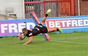 Wigan's U19s win in Hull