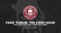 Fans' Forum: The first hour