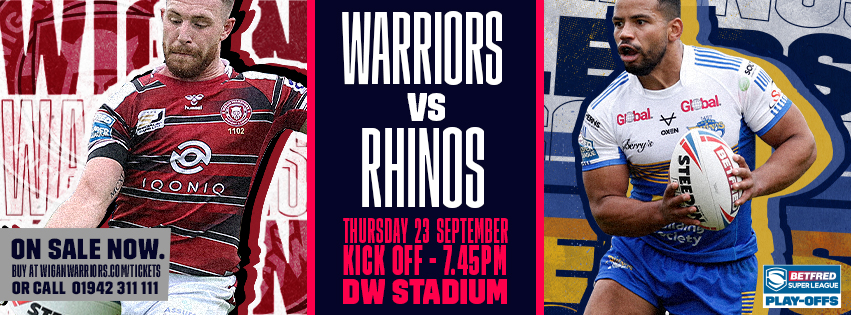 Wigan Warriors v Leeds Rhinos