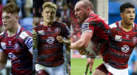 Four Warriors in Knights squad